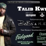 talib show flyer