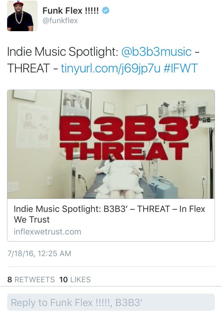 InFlexWeTrust Threat B3B3'